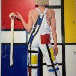 Adhesif, Mondrian
